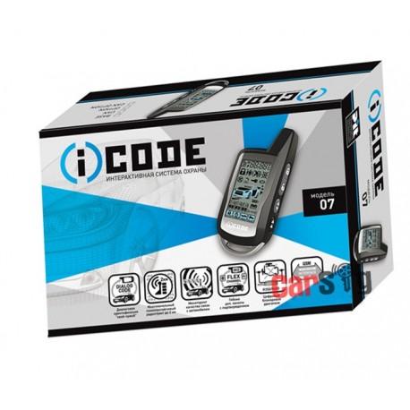 Автосигнализация iCode 07 CAN