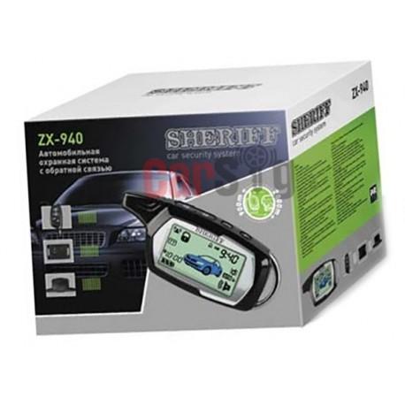 Автосигнализация Sheriff ZX940