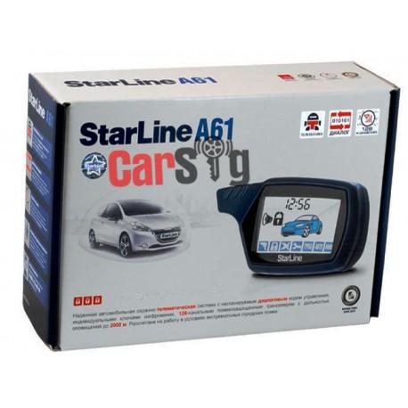 Автосигнализация Starline A61