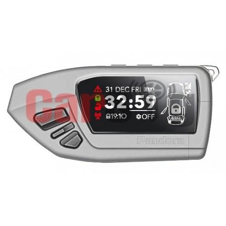 Брелок Pandora LCD DXL600 (серого и черного цвета)