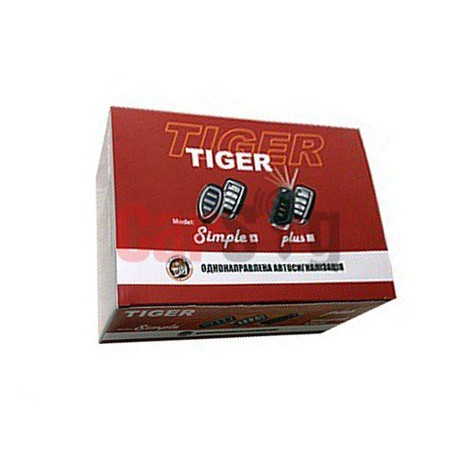 Автосигнализация Tiger Simple Plus