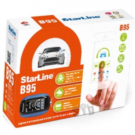 Автосигнализация Starline B95 BT GSM/GPS