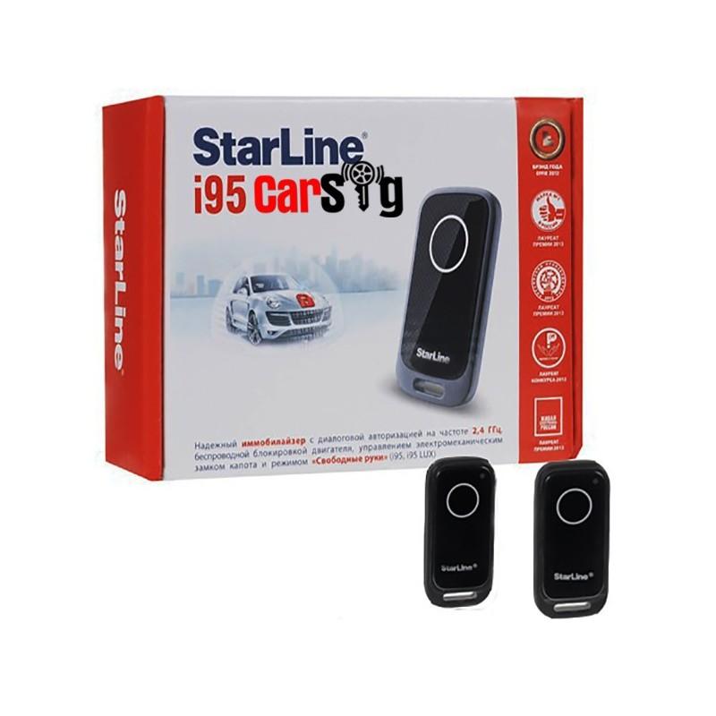 Иммобилайзер starline i95 установка своими руками