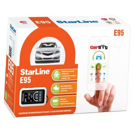 Автосигнализация Starline E95