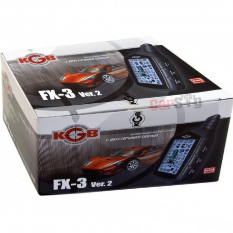 Автосигнализация KGB FX-3 ver.2