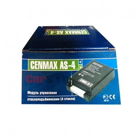 Доводчик стекол Cenmax AS-4